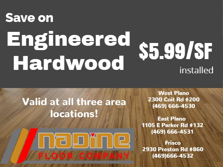Nadine Floor Company Engineered Hardwood Special